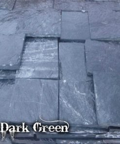 Piatra fasonata Dark Green